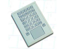 Compact keyboard with optional touchpad