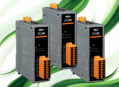 ET-2260 Ethernet I/O Module with 6-ch Digital Input and 6-ch Relay Output