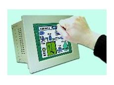 Fanless Pentium M Industrial Panel PC