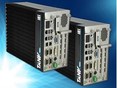 IEI's TANK-860-HM86 ruggedised multi-expansion embedded system for automation applications