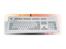 Industrial keyboard with radio function