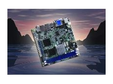MI810 Intel Atom N270 Mini-ITX motherboard with Intel 945GSE chipset available from Backplane Systems Technology