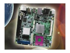 MI945X, Socket P Intel Core 2 Duo Mini-ITX Motherboard from Backplane Systems Technology