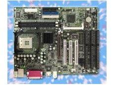 Pentium 4 motherboard with 3 ISA slots