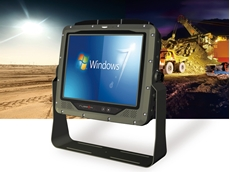 RuggON s 10.4 ultra rugged vehicle computer designed for mining, emergency services and waste management applications