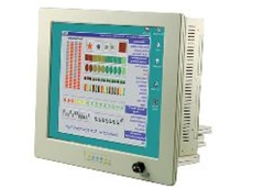 Water resistant 19-inch industrial panel PC